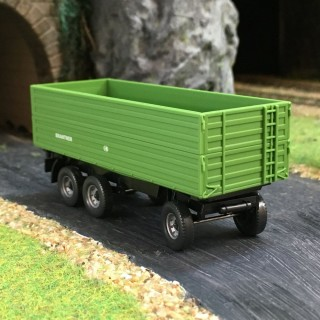 Remorque à 3 essieux Brantner -HO-1/87-Wiking 038812