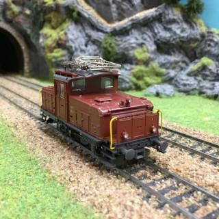 Locomotive Ee 3/3 SBB -HO-1/87-ROCO 43529 DEP67-019