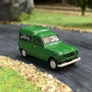 Renault 4L fourgonette Bardahl -HO-1/87-BREKINA 14742