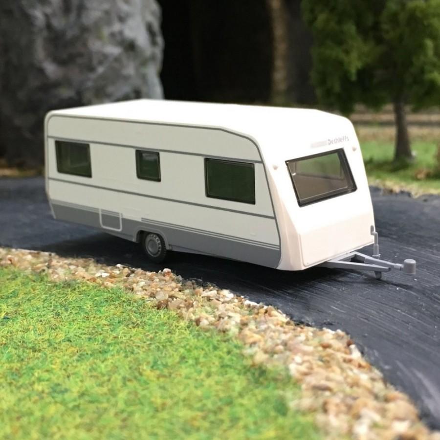 caravane dethleffs 530 ho wiking 009203 mod lisme ferroviaire. Black Bedroom Furniture Sets. Home Design Ideas