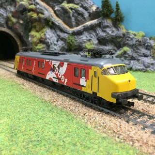 Locomotive électrique série Mp 3000-HO-1/87-MARKLIN 8388 DEP73-030