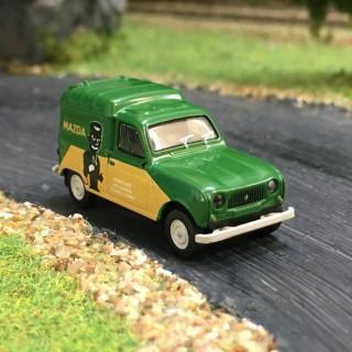 Renault 4L fourgonnette Mazda-HO-1/87-BREKINA 14743