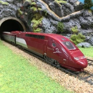TGV Thalys 4 éléments -HO-1/87- MEHANO DEP78-002
