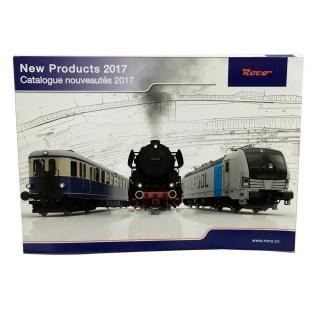 Catalogue nouveautés 2017 Roco français et anglais 116 pages -ROCO 2017