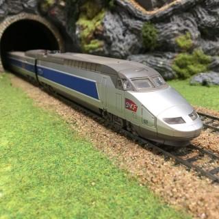 TGV Atlantique 4 éléments -HO-1/87- MEHANO DEP78-001