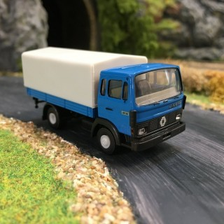 Renault JN90 bleu baché -HO-1/87-BREKINA 34850