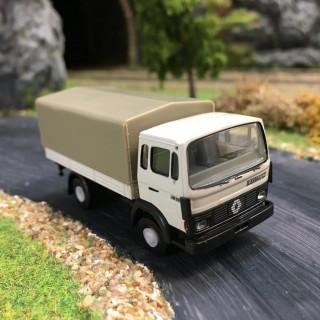Renault JN90 blanc baché -HO-1/87-BREKINA 34851