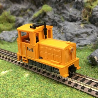 """Locomotive """"Patrik"""" - HOe -1/87- ROCO 33205 DEP17-139"""