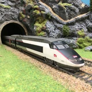 TGV Sud-Est 4 éléments -HO-1/87- MEHANO DEP78-003