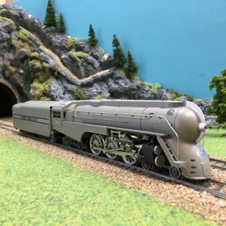 Locomotive 4-6-2 (hudson) NYC-HO-1/87-RIVAROSSI 1273 DEP76-023