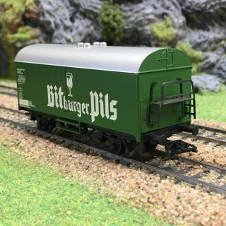 Wagon Bitburger Pils-HO-1/87-MARKLIN 4421 DEP40-81