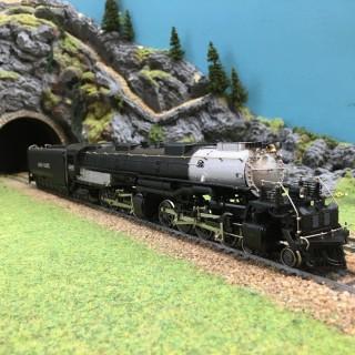 Locomotive 4-8-8-4 big boy -HO-1/87-RIVAROSSI 1254 DEP76-033