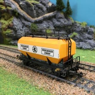 Wagon transport Ciment-HO-1/87- ROCO 4326 DEP17-635