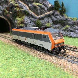 Locomotive électrique BB26004-HO-1/87-MARKLIN 8334 DEP73-003