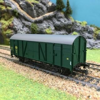 Wagon Marchandises Sncb-HO-1/87-ROCO 47513 DEP17-643