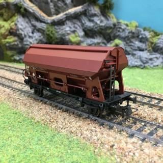 Wagon transport de charbon Sncb-HO-1/87-ROCO 47485 DEP17-633