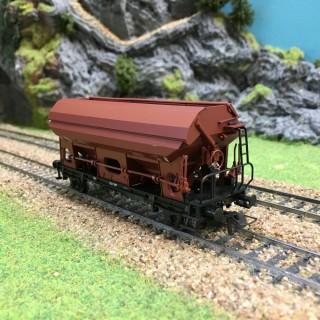 Wagon transport de charbon Sncb-HO-1/87-ROCO 47485 DEP17-634
