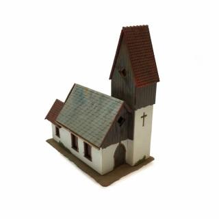 Maquette église -HO-1/87- DEP64-121