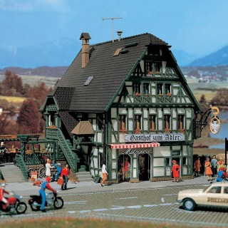 Auberge & boucherie avec décoration intérieure -N-1/160-VOLLMER 47711