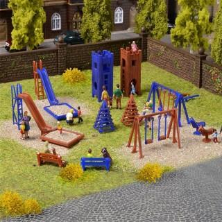 Aire de jeux de plein air -HO-1/87-VOLLMER 43665
