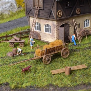 Set de travaux à la ferme -HO-1/87-VOLLMER 43699