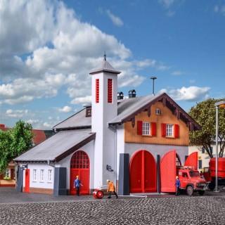 Caserne de pompiers -HO-1/87-KIBRI 39214