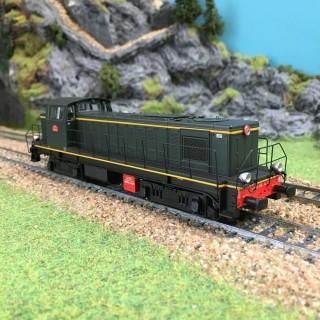 Locomotive 040 DE 125 Mohon ép III-HO-1/87-R37-HO41022