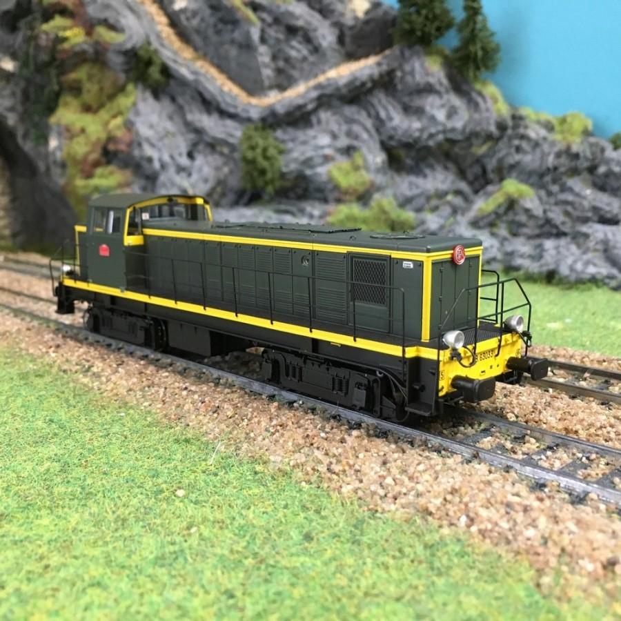 Locomotive BB 63033 Nevers ép IV-HO-1/87-R37-HO41025