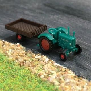 Tracteur Hanomag R16 + remorque N-1/160-WIKING 095303
