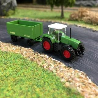 Tracteur + remorque Krone Emsland N-1/160-WIKING 096001