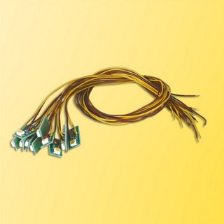10 LEDS précablées - toutes échelles - VIESSMANN 6008