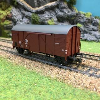 Wagon de Marchandises Sncb -HO-1/87- ROCO 47347 DEP17-638