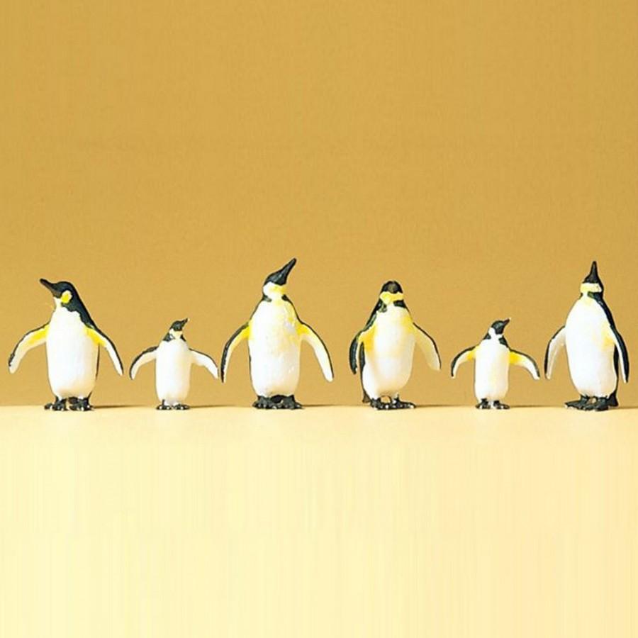 6 pingouins -HO-1/87-PREISER 20398