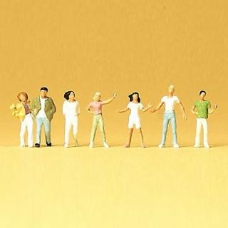 7 personnages jeunes -N-1/160-PREISER 79078