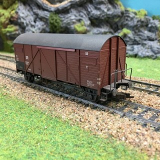 Wagon de Marchandises DR -HO-1/87- ROCO 46649 DEP17-645