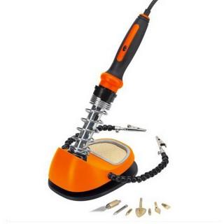 Kit pyrogravure-Fer à souder + 7 accessoires - PGTOOLS PGT220