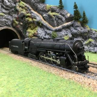 Locomotive 4-6-4 J3a New York Central -HO-1/87-RIVAROSSI 1252 DEP76 034