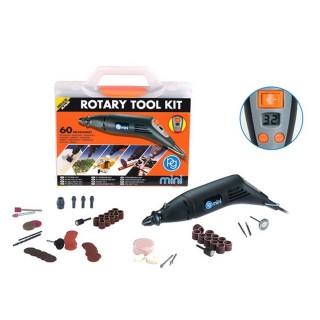 Kit outil rotatif multiusages 60 accessoires - PGMINI M.9650