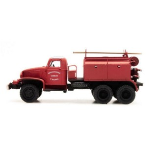 Camion GMC Pompiers Inguinel-HO-1/87-REE CB-075