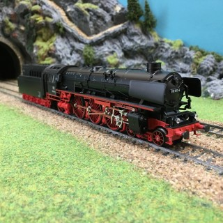 locomotive 3 rails occasion chelle ho 1 87 pour le. Black Bedroom Furniture Sets. Home Design Ideas