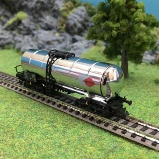 Wagon citerne MITRAG chromée -N-1/160-FLEISCHMANN 848014