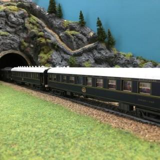 Coffret Orient-Express 5 éléments-HO-1/87-RIVAROSSI DEP10-102