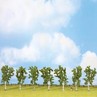 7 arbres de 100mm- Toutes échelles-NOCH 25096