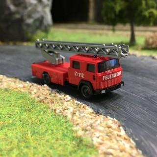 Camion Pompiers grande échelle DL 30 N-1/160-WIKING 096203