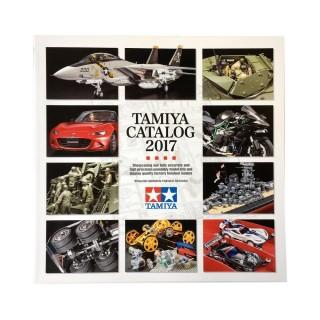 Catalogue 2017, 86 pages Français, Anglais, Allemand, Espagnol-TAMIYA 2017