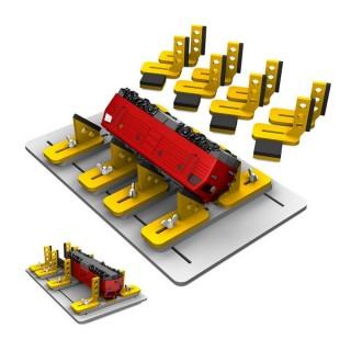 Table d'entretien locomotive, wagons et voiture- toutes échelles-PROSES LB-901