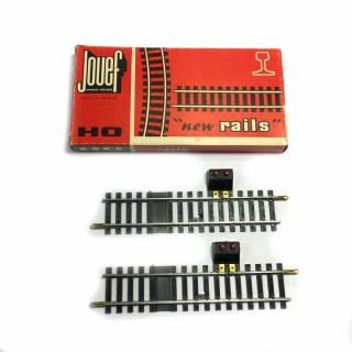 2 rails de coupure -HO-1/87-JOUEF 4852 OC1179