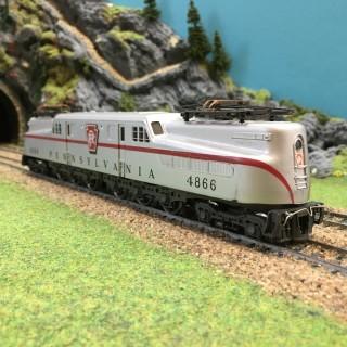 Locomotive GE 4866 Pennsylvania-HO-1/87-RIVAROSSI DEP65-13