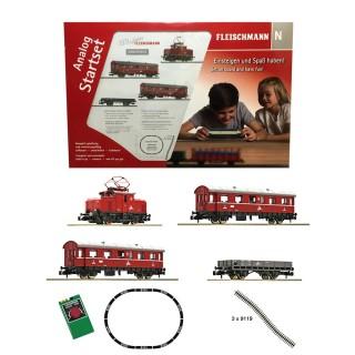 Coffret analogique diesel à crémaillères ep III -N-1/160-FLEISCHMANN 781701