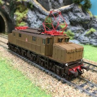 "Locomotive FS E626.076 ""Savigliano"" epIVb/V -HO-1/87-LEMODELS 20513"